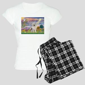 Cloud Star & Old English Women's Light Pajamas