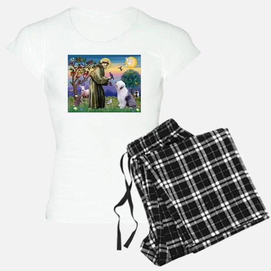 ST. FRANCIS + OES Pajamas