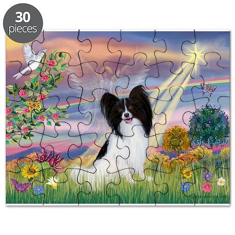 Cloud Angel & Papillon Puzzle
