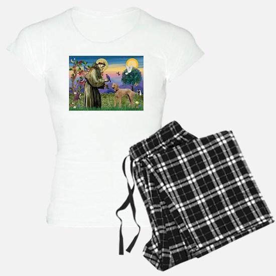St Francis / Std Poodle(a) Pajamas