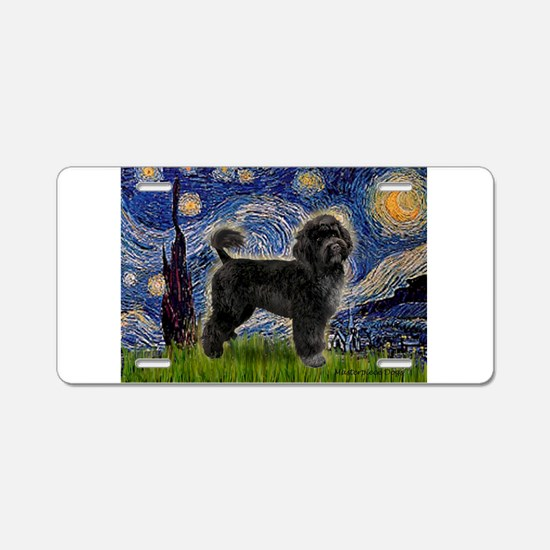 Starry Night / PWD (#2) Aluminum License Plate