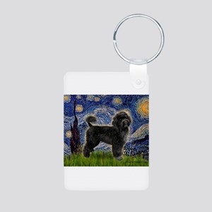Starry Night / PWD (#2) Aluminum Photo Keychain