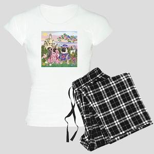 Sir Pug & Princess Women's Light Pajamas
