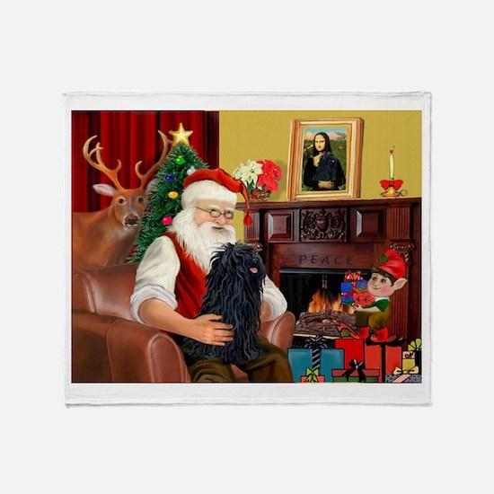 Santa's Puli Throw Blanket