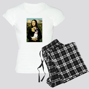 Mona & Rat Terrier Women's Light Pajamas