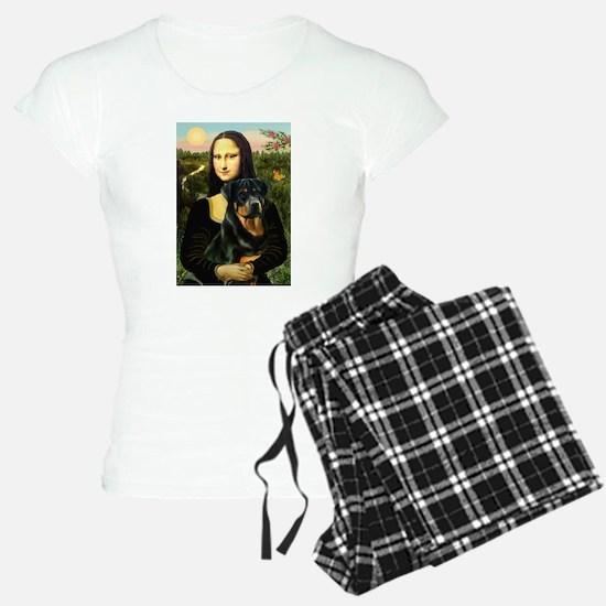 Mona Lisa & Rottie Pajamas