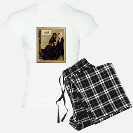 Whistler's Mother/Rottweiler Pajamas