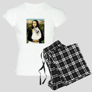 Mona Lisa / Samoyed Women's Light Pajamas