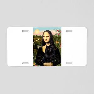 Mona's Schipperke Aluminum License Plate