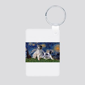 Starry Night w/G-Schnzr + Min Aluminum Photo Keych