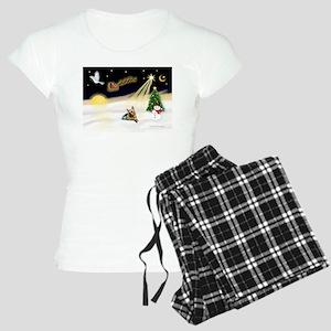 Night Flight/Silky Ter #14 Women's Light Pajamas