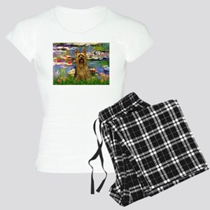 Lilies & Silky Terrier Women's Light Pajamas