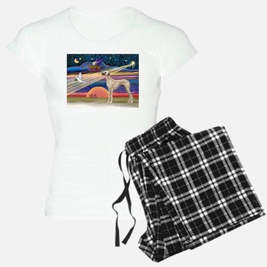 Xmas Star Sloughi Pajamas