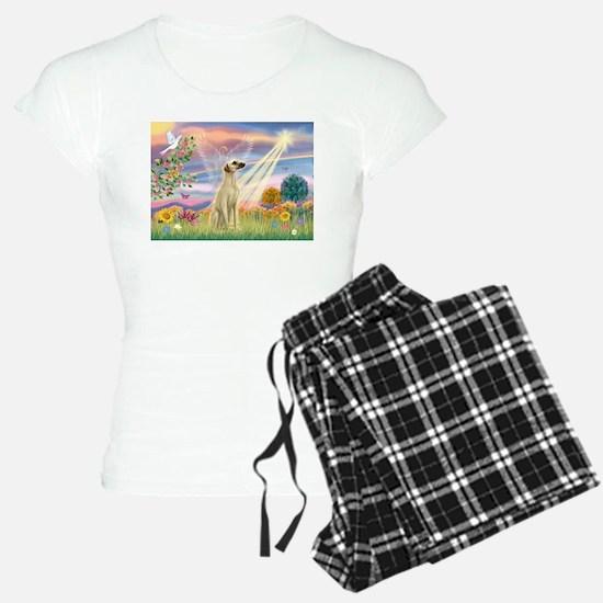 Cloud Angel & Sloughi Pajamas