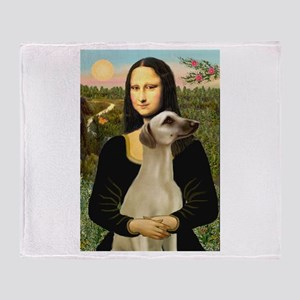 Mona Lisa's Sloughi Throw Blanket