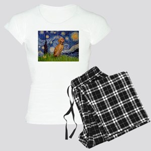 Starry Night & Vizsla Women's Light Pajamas
