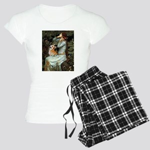 Ophelia & her Corgi (Pem) Women's Light Pajama