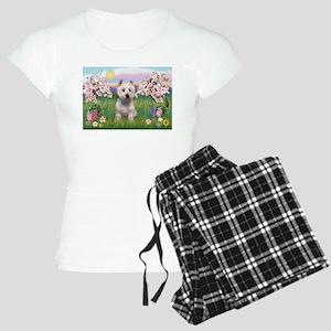 Blossoms & Westie Women's Light Pajamas