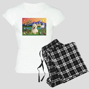 Fantasy Land Westie Women's Light Pajamas