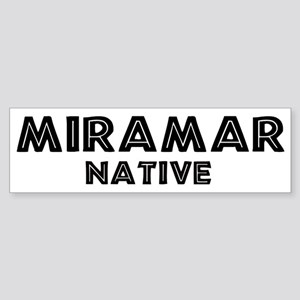 Miramar Native Bumper Sticker