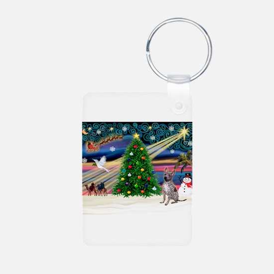 XmasMagic/Xolo (#2) Aluminum Photo Keychain