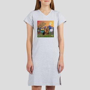 Fantasy/Yorkie (#7) Women's Nightshirt