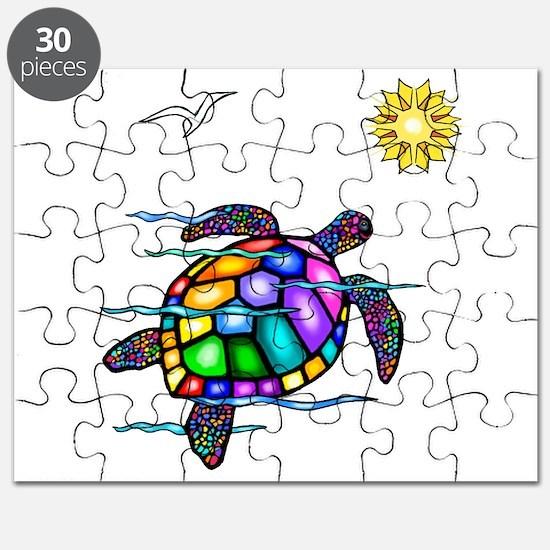 Sea Turtle #1 Puzzle