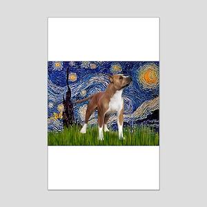 Starry & Amer Staff Mini Poster Print
