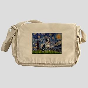Starry Night/ Australian Catt Messenger Bag