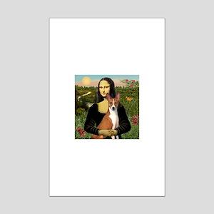 Mona Lisa's Basenji Mini Poster Print