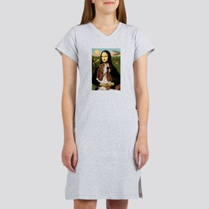 Mona's Basset Hound Women's Nightshirt