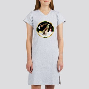Night Flight/Beagle Women's Nightshirt