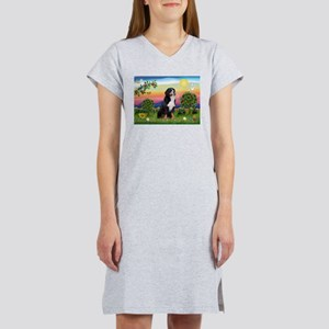 Bright Country & Bernese Women's Nightshirt