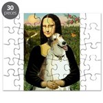 Mona & her Borzoi Puzzle