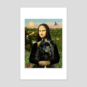 Mona / Bouvier Mini Poster Print
