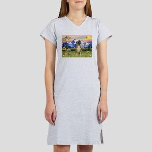 Boxer/Mountain Country Women's Nightshirt