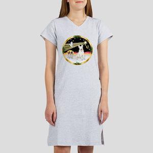 XmasDove/Bull Terrier Women's Nightshirt
