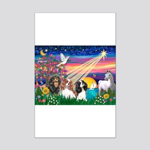 Magical Night/3 Cavaliers Mini Poster Print