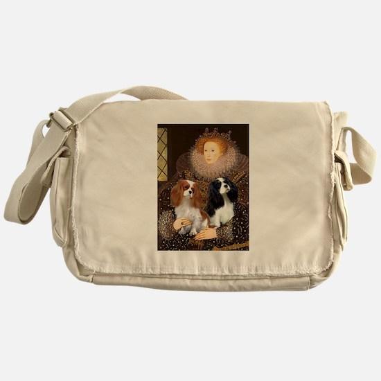 Queen / Two Cavaliers Messenger Bag