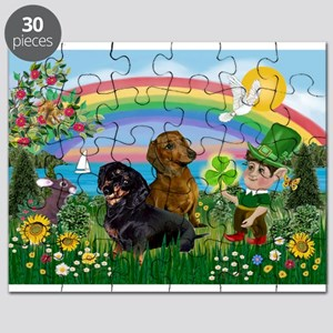 St Patricks Day Dachshunds Puzzle