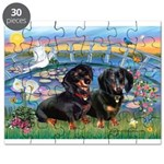 Sunrise Lilies / Doxie's Rule Puzzle