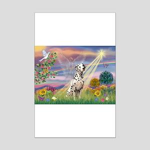 Mona Lisa (new) & Dalmatian Mini Poster Print