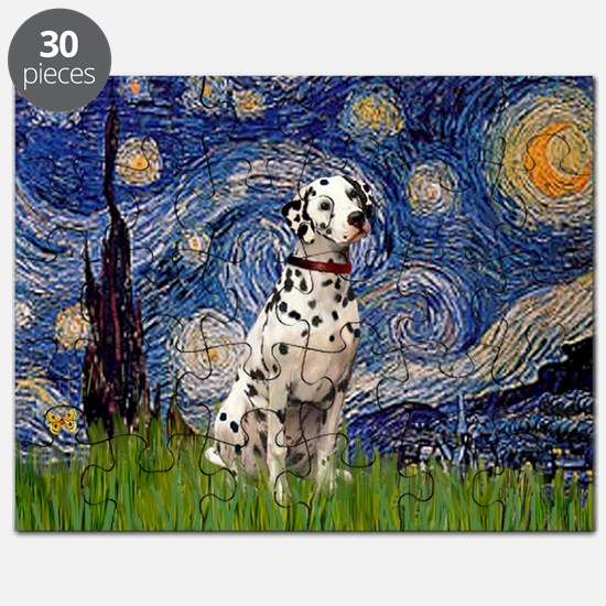 Starry Night & Dalmatian Puzzle