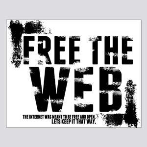 Free the Web Small Poster