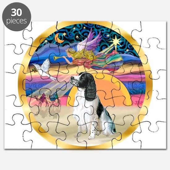 XmasStar/Springer Spaniel Puzzle
