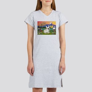 French Bulldog in Fantasyland Women's Nightshirt