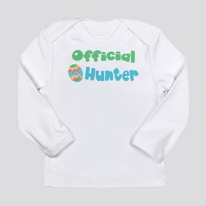 Official Egg Hunter! Boys/Gir Long Sleeve Infant T