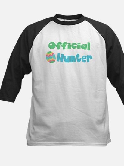 Official Egg Hunter! Boys/Gir Kids Baseball Jersey