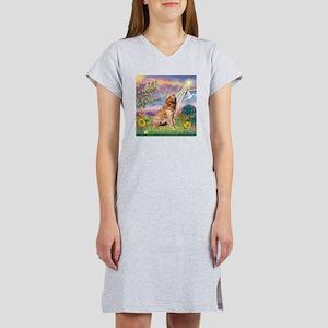 Cloud Angel / Golden Women's Nightshirt
