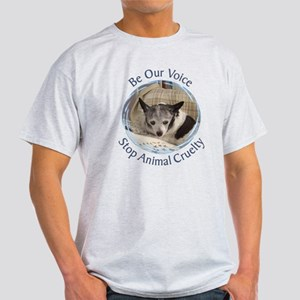 Be Our Voice Stop Animal Crue Light T-Shirt